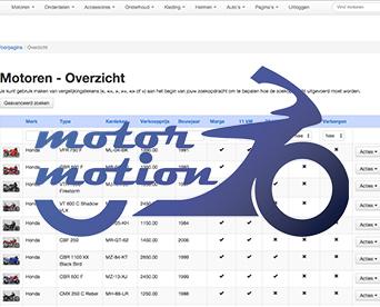 Beheersysteem Motor Motion