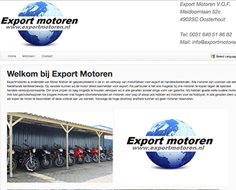 Website Export Motoren