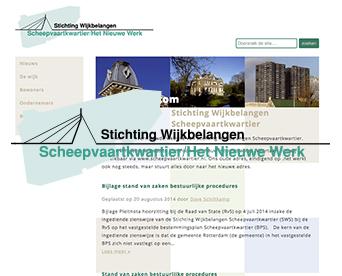Website Stichting Wijkbelangen